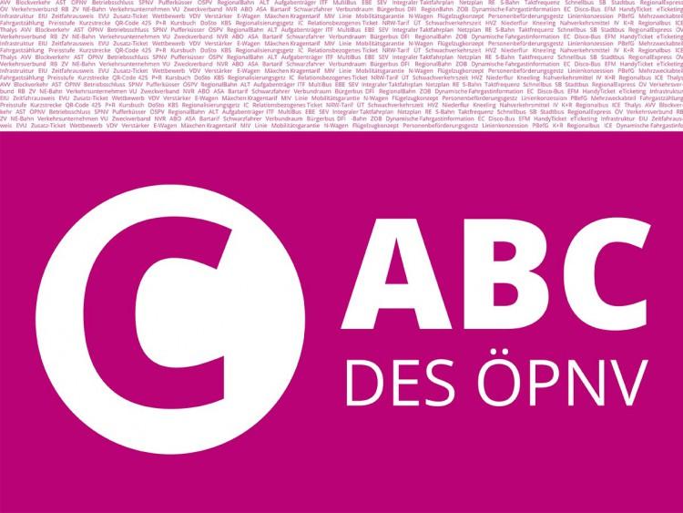 ABC des ÖPNV - Buchstabe C.