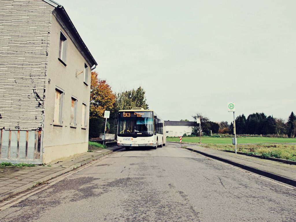Halt in Borschemich.