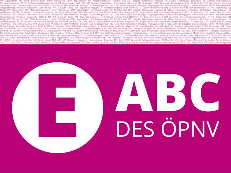 ABC des ÖPNV - Buchstabe E.