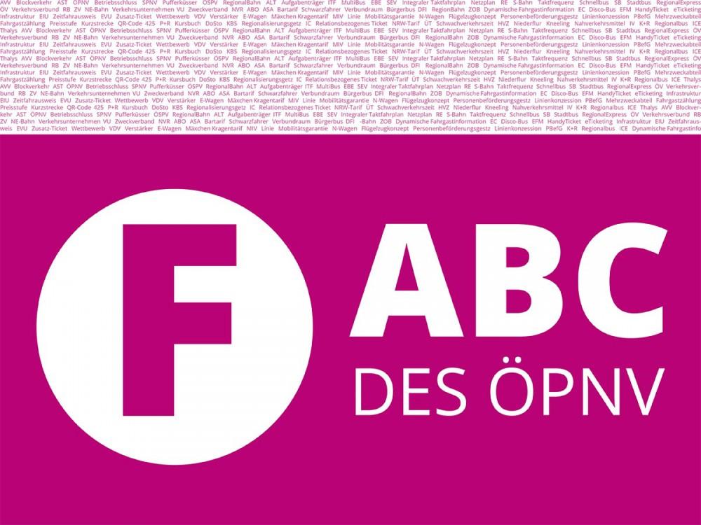 ABC des ÖPNV - Buchstabe F.