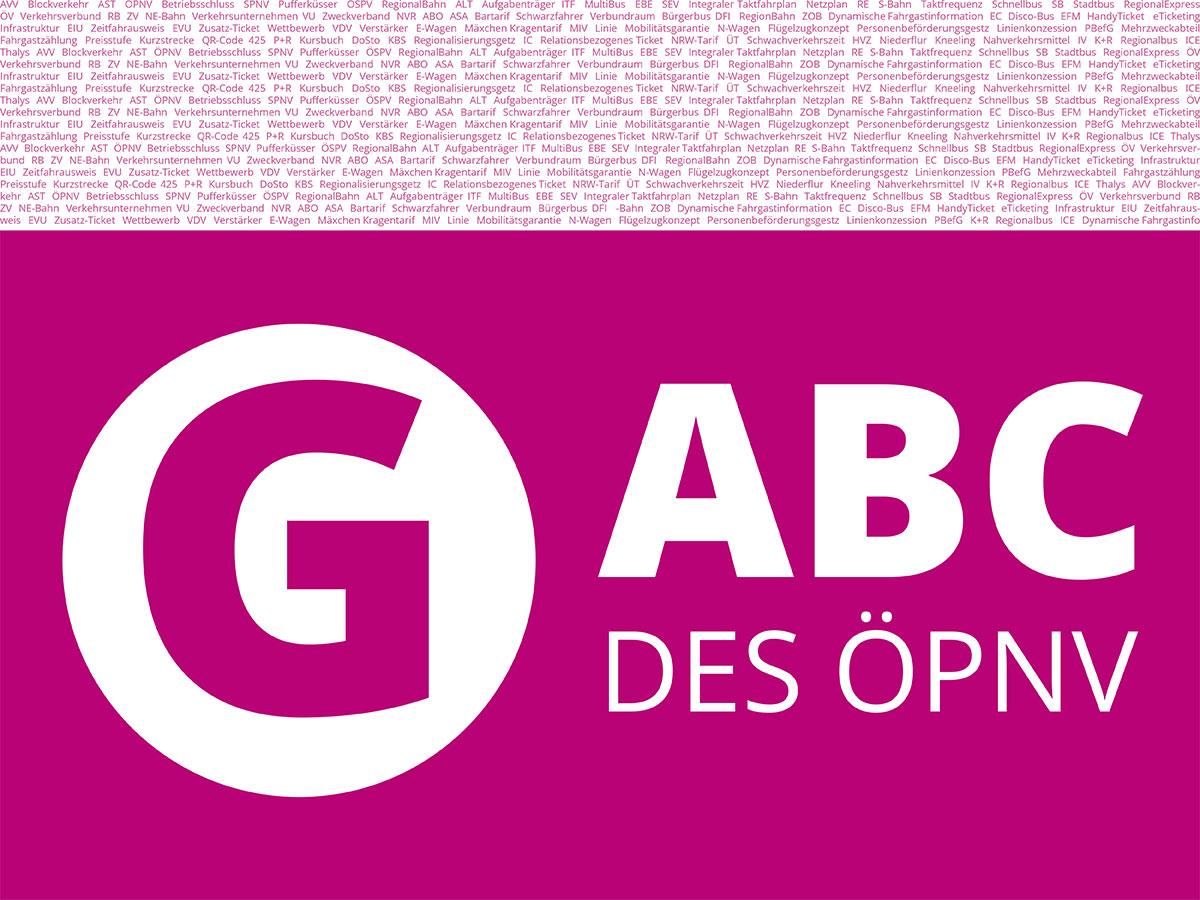 ABC des ÖPNV - Buchstabe G.