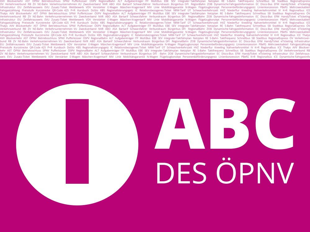 ABC des ÖPNV - Buchstabe I.