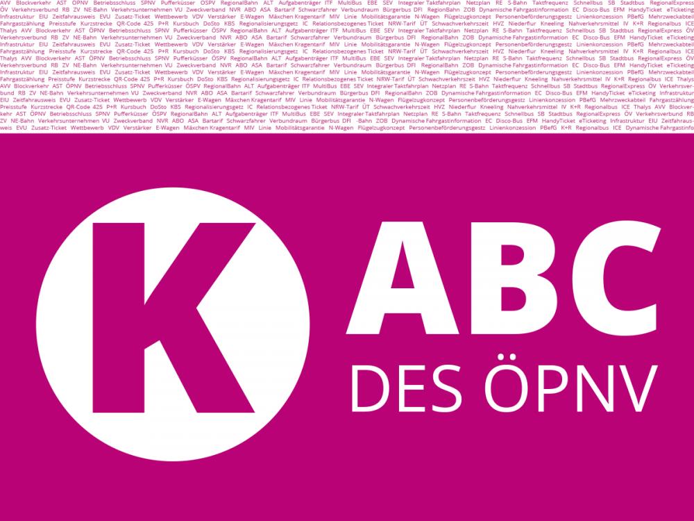 ABC des ÖPNV - Buchstabe K.