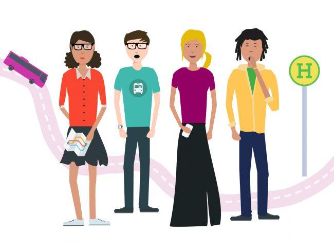 Infografik: Welcher Öffi-Typ bist du?