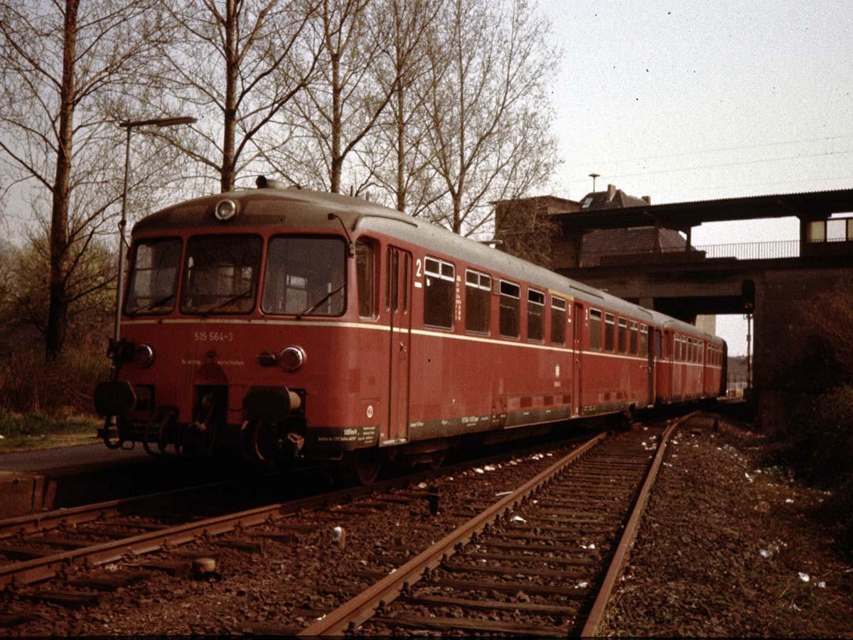 Der Bahnhof Baal 1980