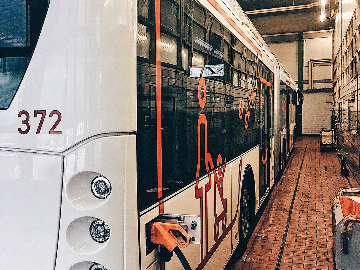 Elektrobus der ASEAG