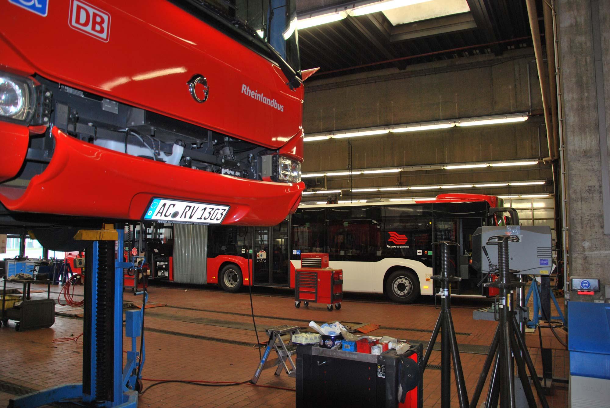 BVR-Bus in der Werkstatt