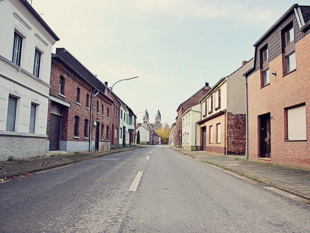 Hauptstrasse in Immerath.