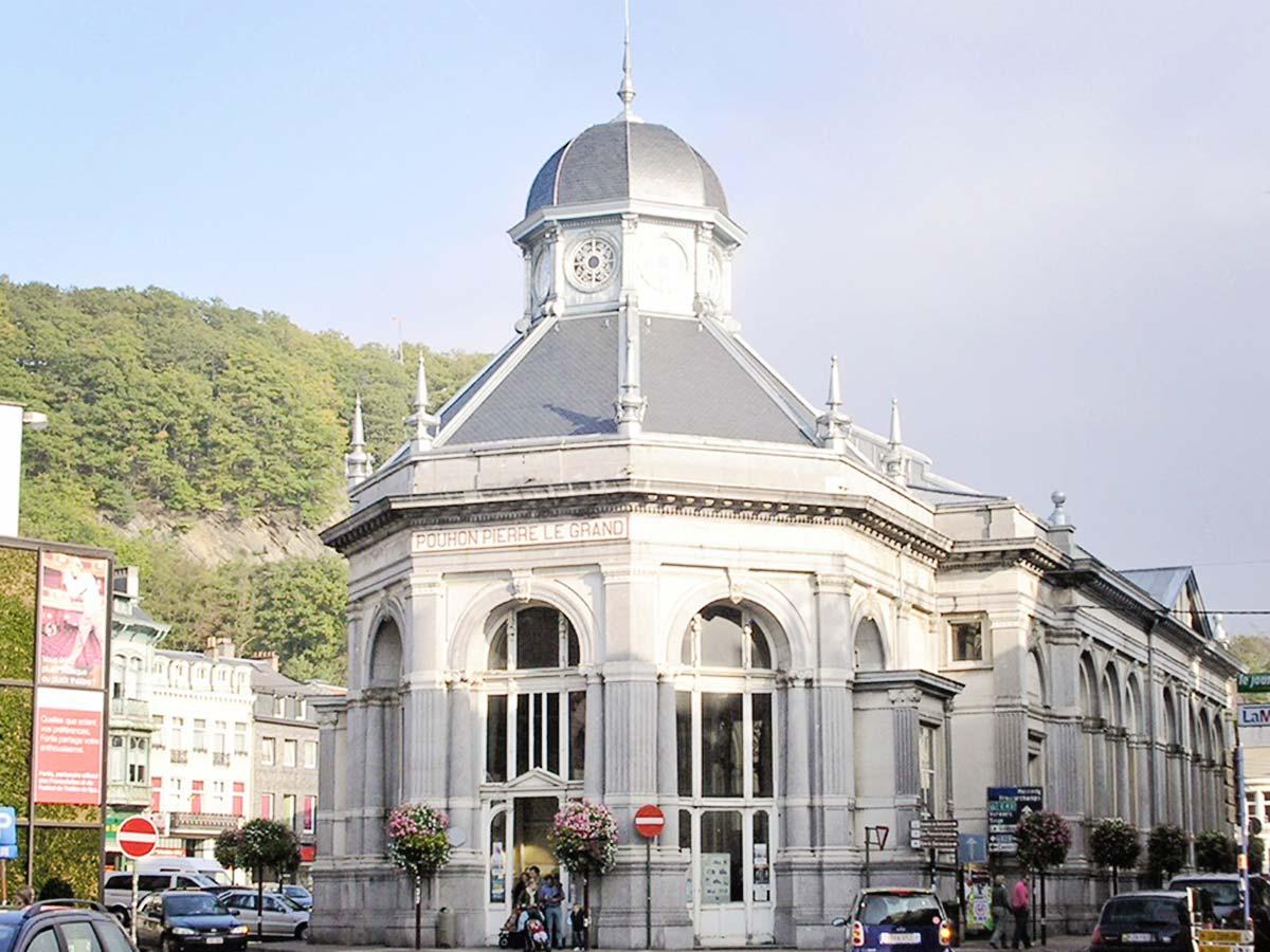Brunnenhaus des Pouhon Pierre le Grand.