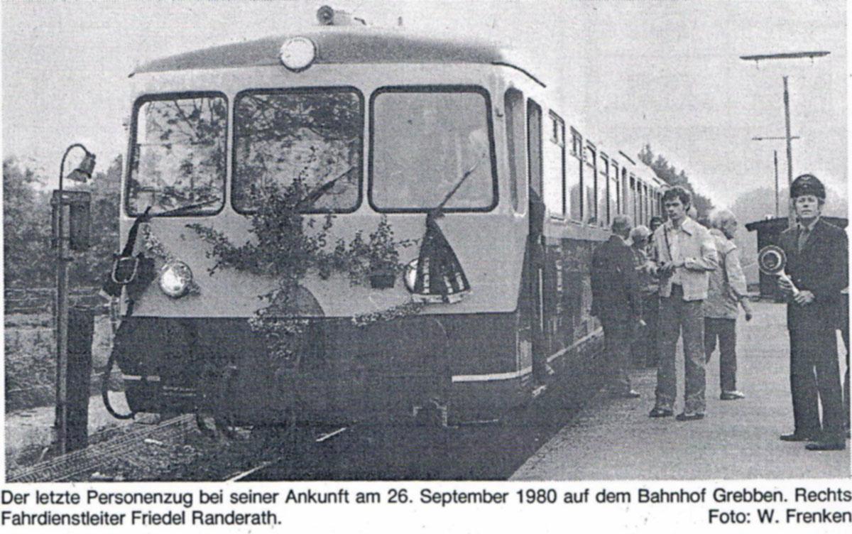 Letzter Betriebstag 1980.