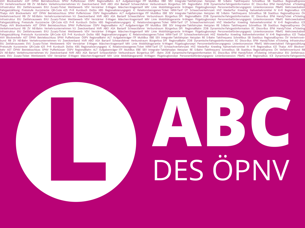 ABC des ÖPNV - Buchstabe L.