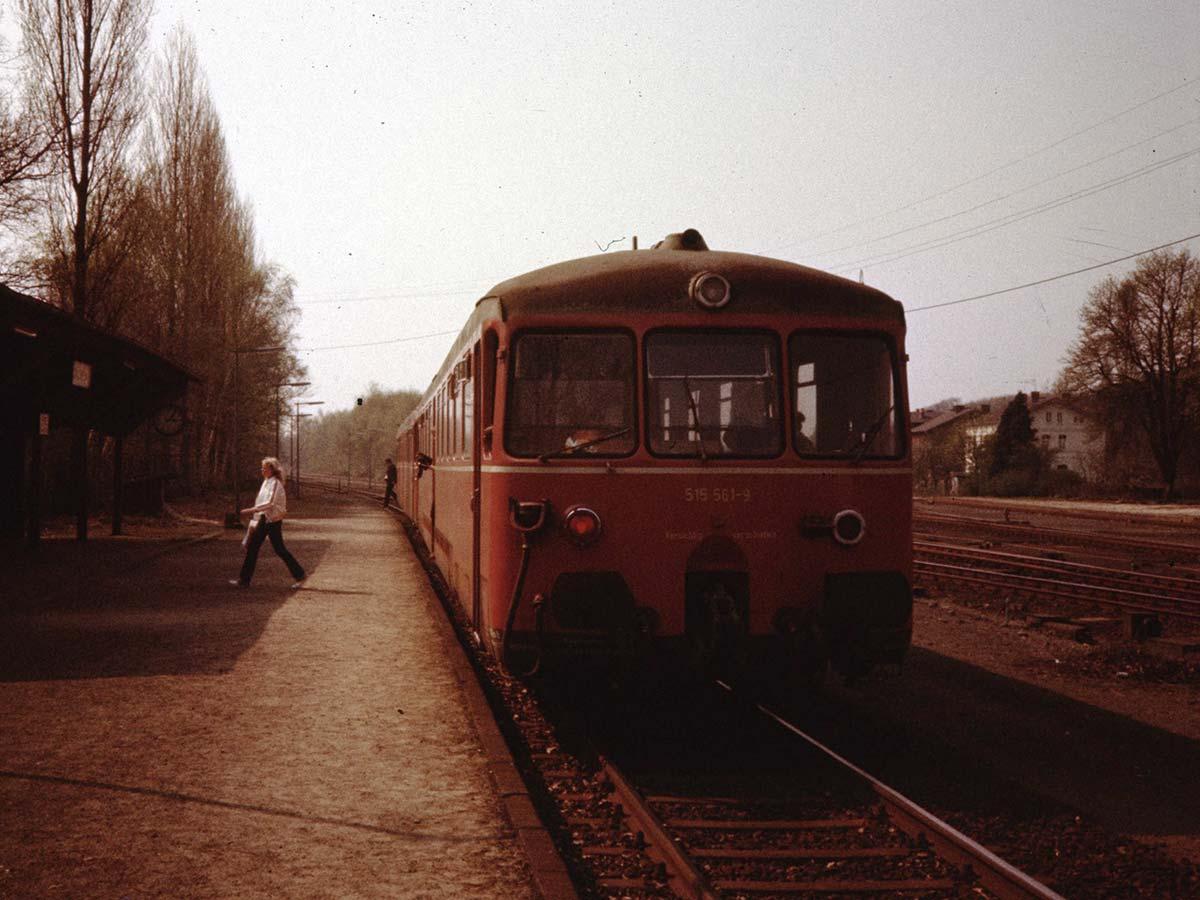 Der Bahnhof Dalheim.