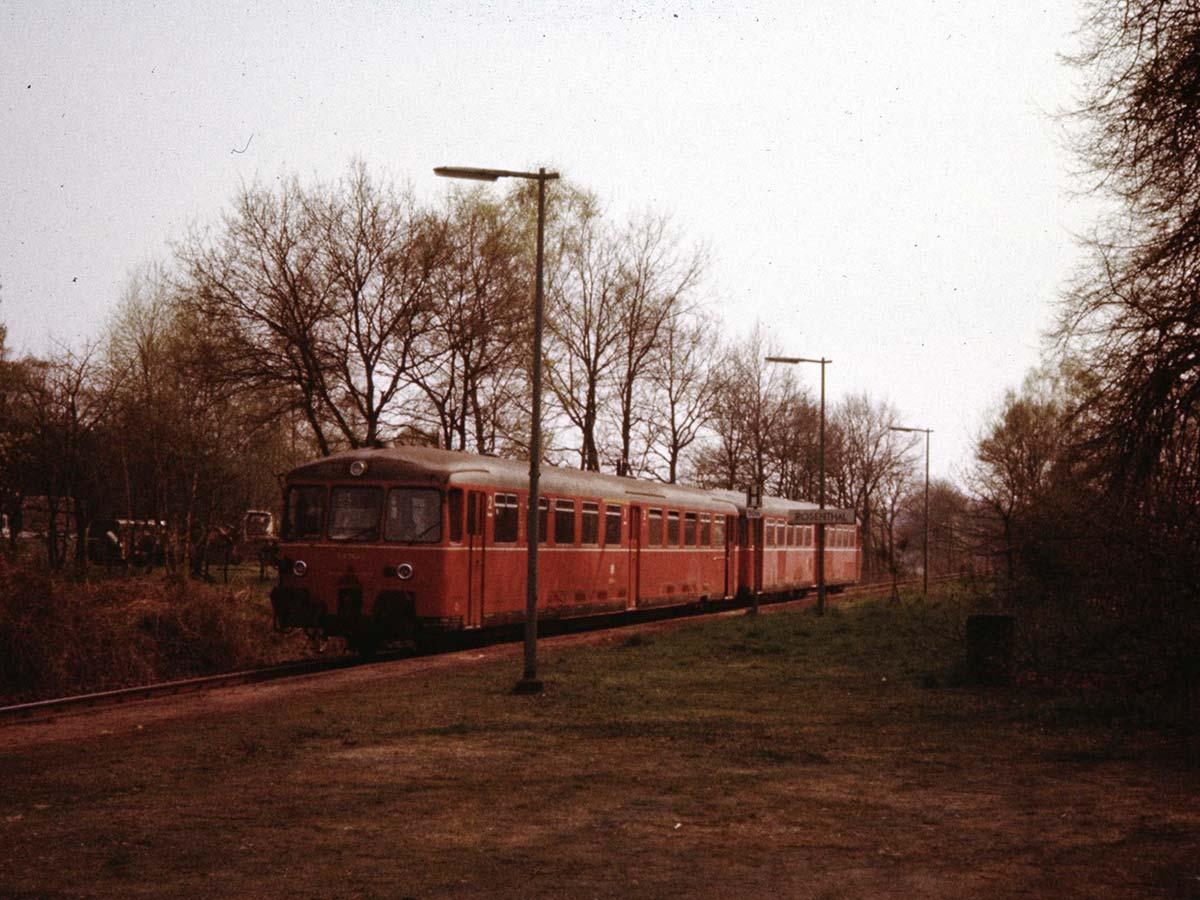 Der Bahnhof Rosenthal 1980.